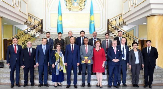 ВАстане европейские депутаты обсудили Сирию иАфганистан