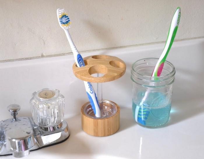 И для зубной щётки подойдёт.