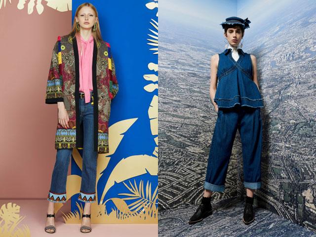 Укороченные джинсы – модная новинка весна-лето 2018