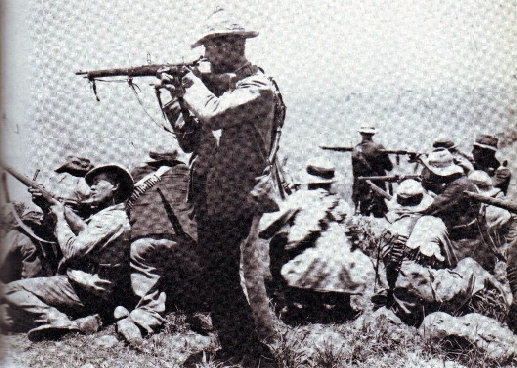 Пока русский с японцем колют друг друга штыками, бур застрелит десятерых история