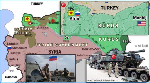 Кто бросил курдов в Сирии по…