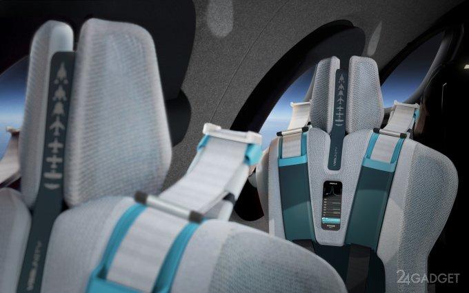 Virgin Galactic открыла виртуальные экскурсии в салон туристического космического корабля будущее,видео,гаджеты,ИИ,Интернет,наука,техника,технологии,электроника
