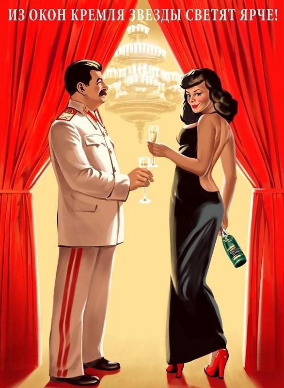 Пин-ап по советски в жизни, в рекламе и просто в наглядной агитации)