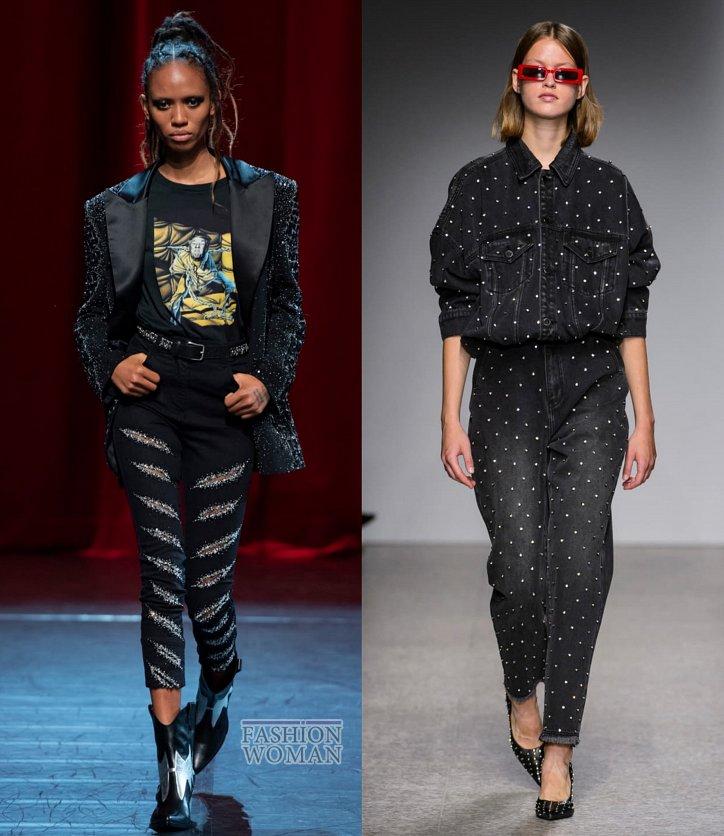 Модные джинсы весна-лето 2019 фото №39
