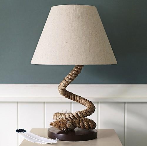 Как с помощью верёвок преобразить мебель, стены и пол