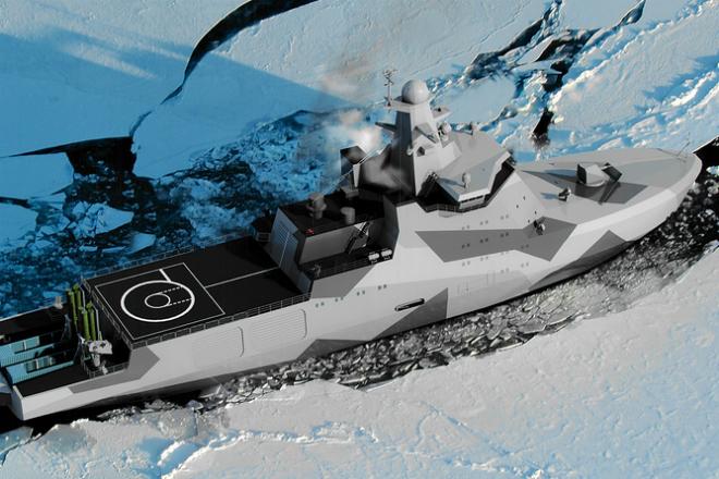 Корабль для операций в Арктике