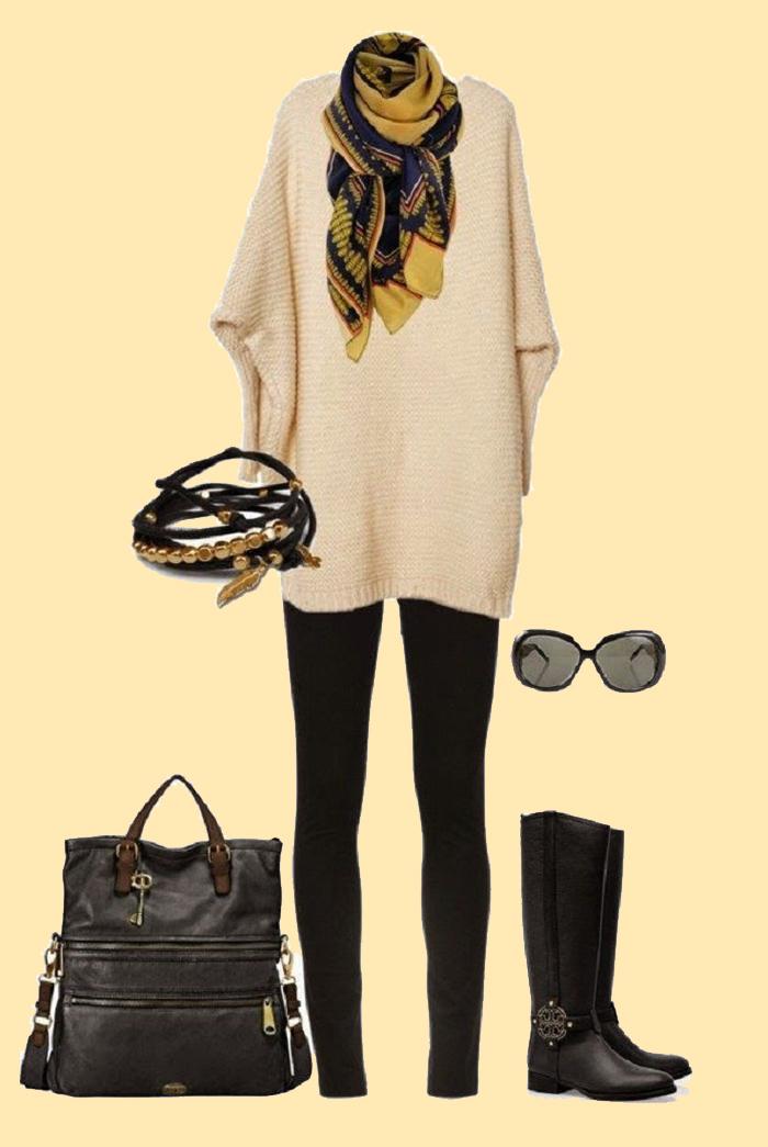 что носить осенью