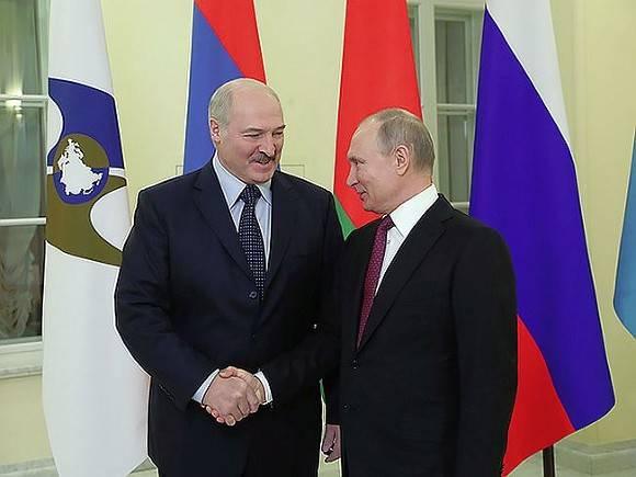 Путин и Лукашенко: найди четыре отличия Лукашенко,политика,Путин