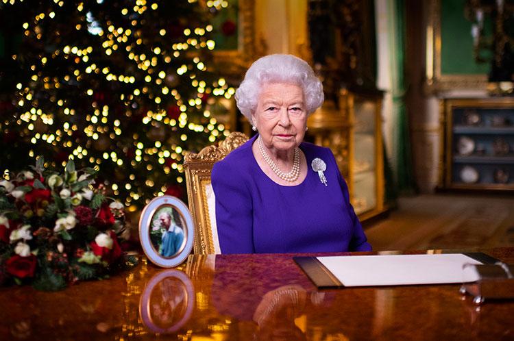 Праздничная речь Елизаветы II стала самой просматриваемой передачей в Рождество Монархи,Британские монархи
