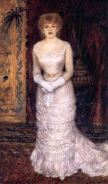 Жанна Самари. Неизвестная женщина с полотен известного художника