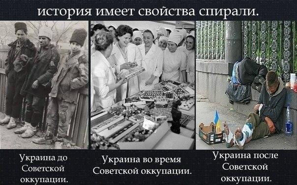 """Про советскую """"оккупацию"""" Украины"""