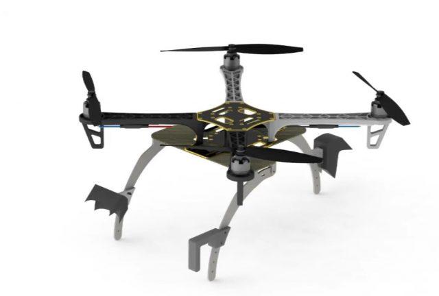 Ученые придумали для дронов …