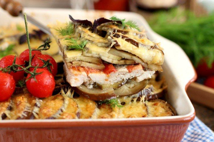 15 отличных рецептов баклажанов с помидорами и чесноком закуски,овощные блюда