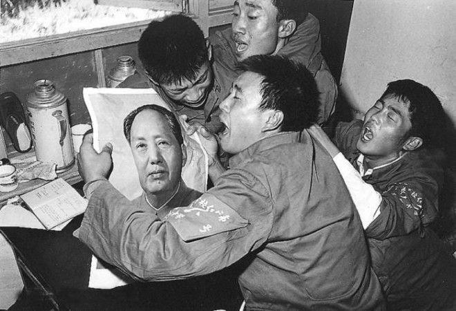 После объявления о смерти Мао Цзэдуна, Китай, 1976 год история, факты, фото