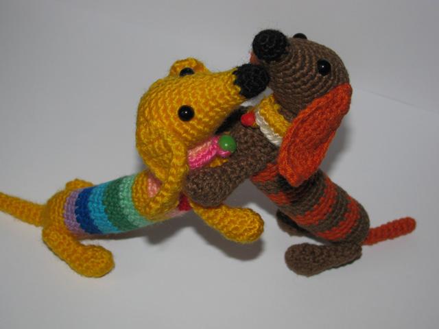 собачки амигуруми крючком игрушка вязание крючком схема щенок