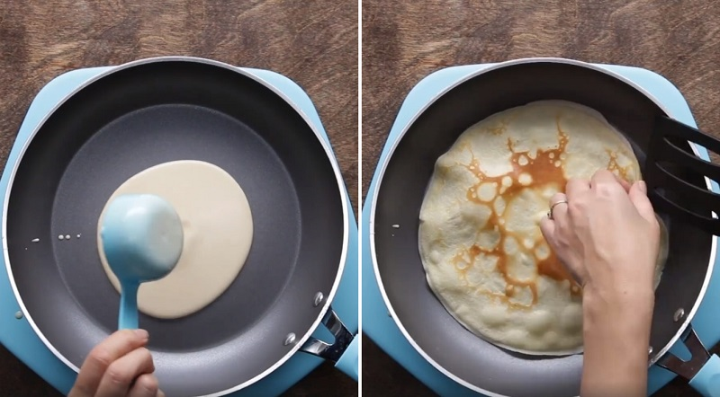 легкий торт из блинов