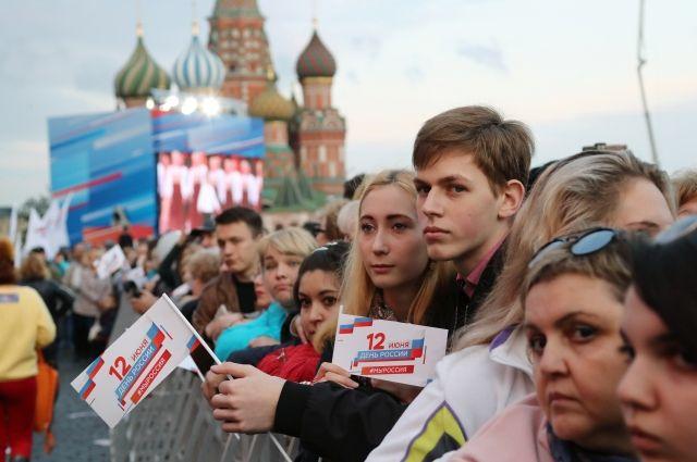 В праздновании Дня России приняли участие более 6 млн человек