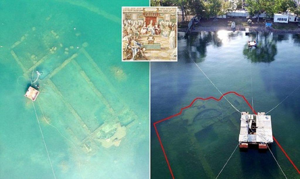 Турецкий археолог нашел на дне озера развалины легендарного собора