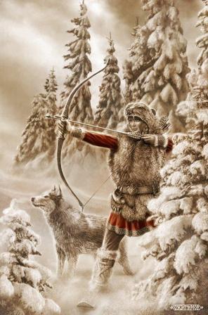 Девана - богиня охоты