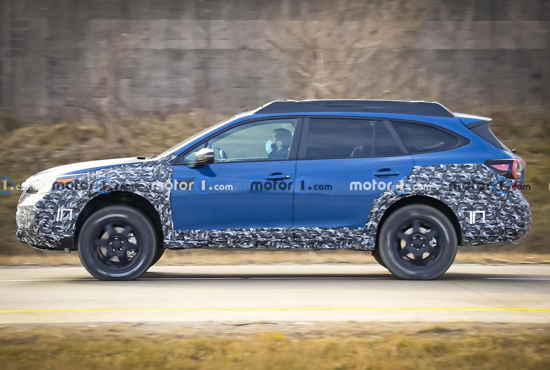 Subaru готовит Outback с суровому бездорожью Новости