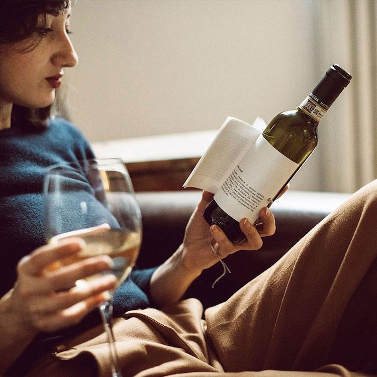 Пей и читай: вино с книгой на этикетке