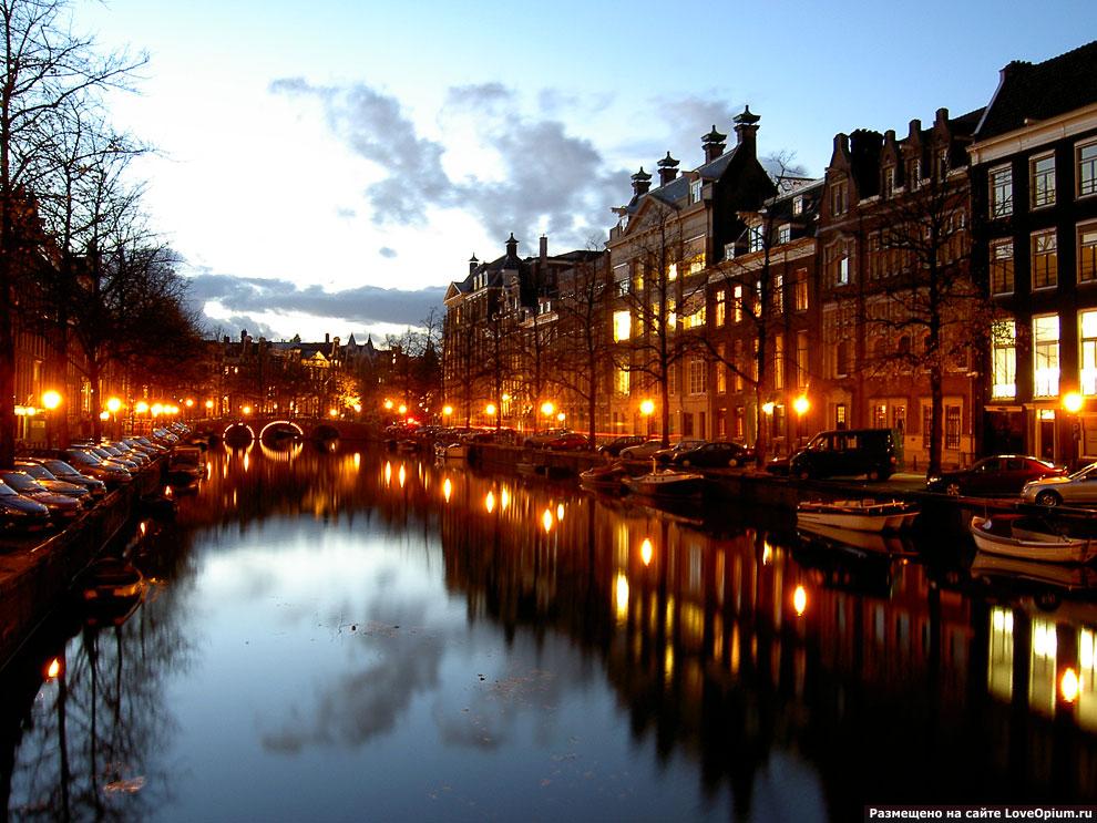 Амстердам, Голландия