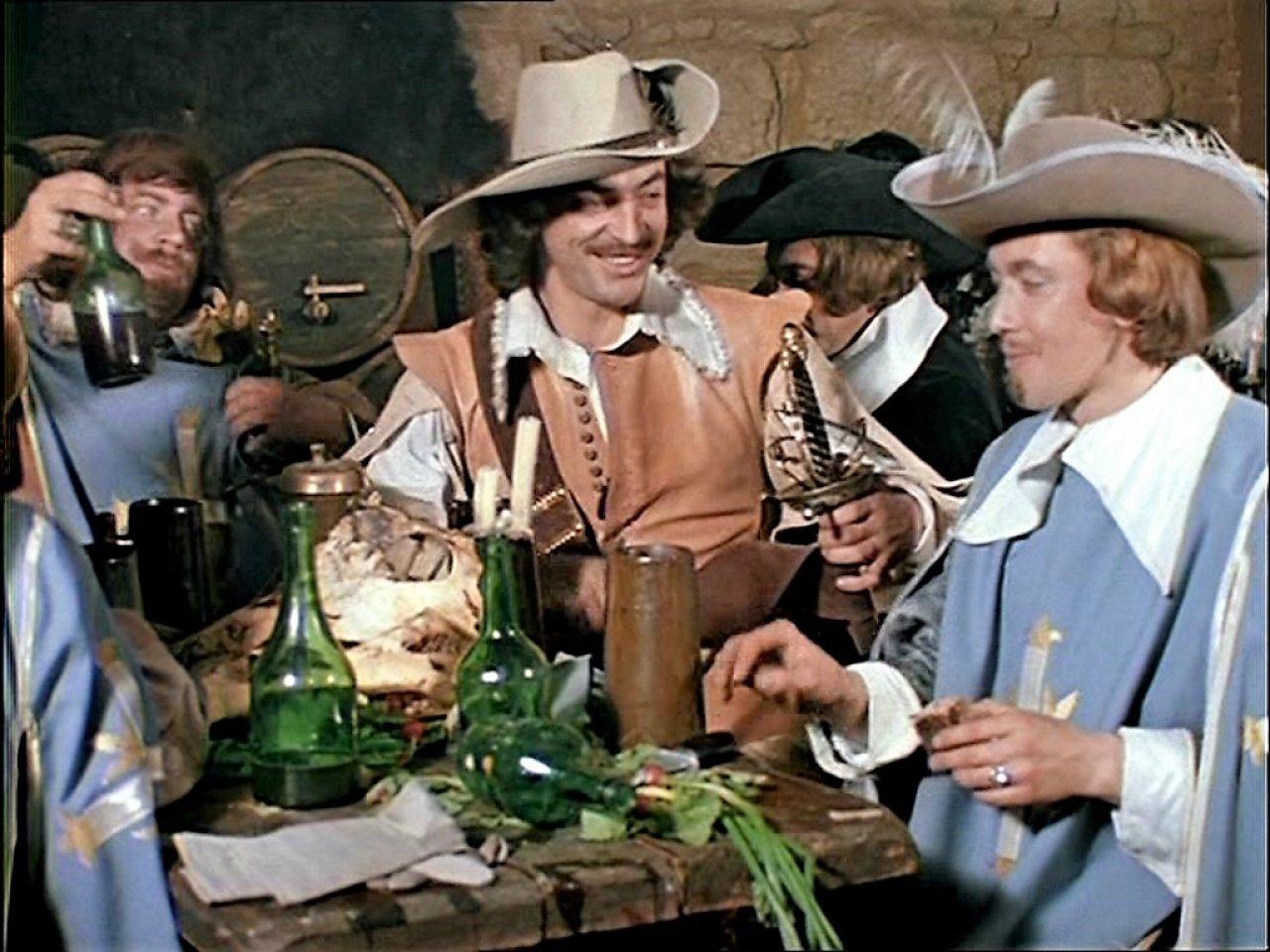Интересные факты о создании фильма Д'Артаньян и три мушкетёра картинки