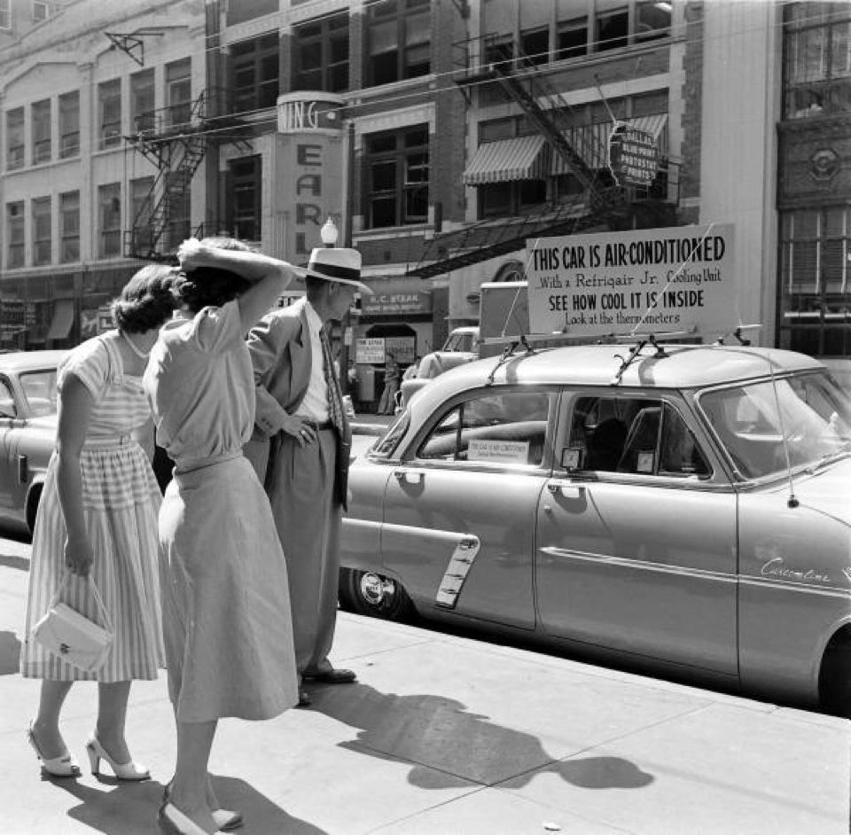Автомобильный кондиционер: история