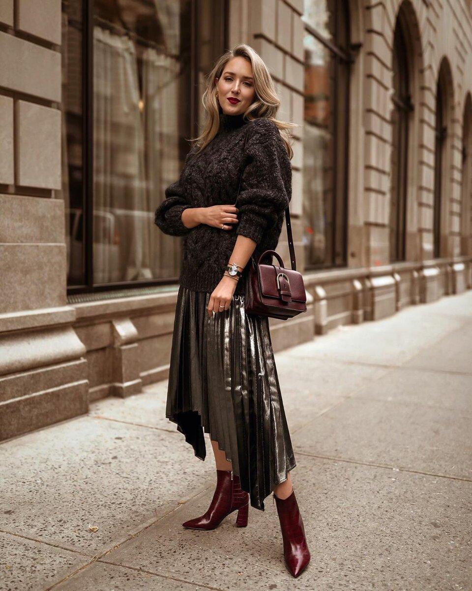 40 примеров с чем правильно носить и сочетать разные фасоны юбок