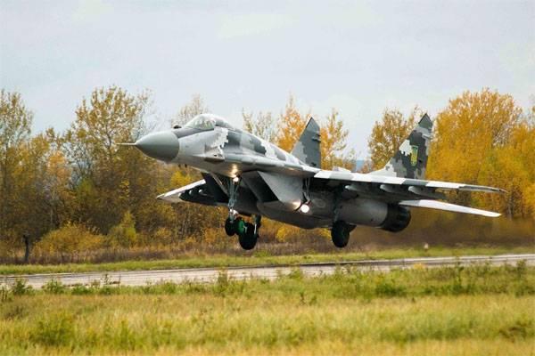 """Российские комплектующие к двигателям МиГ-29 """"не долетели"""" до Киева"""