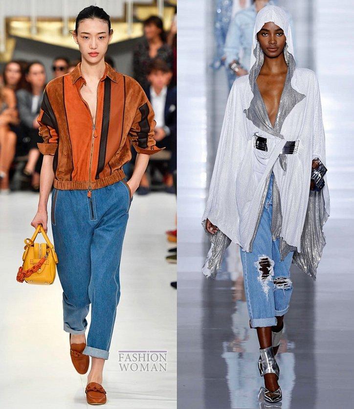 Модные джинсы весна-лето 2019 фото №22