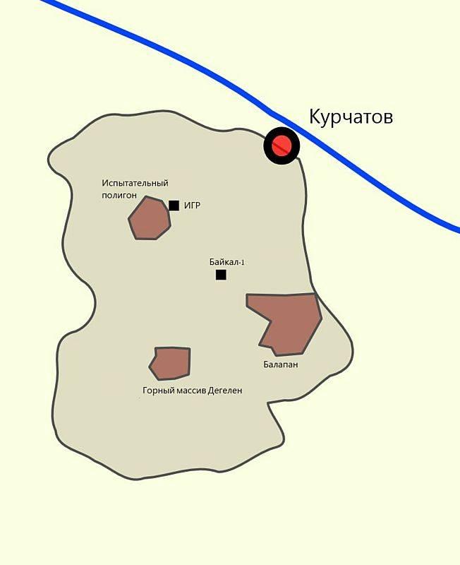 Первые советские подземные ядерные испытания история