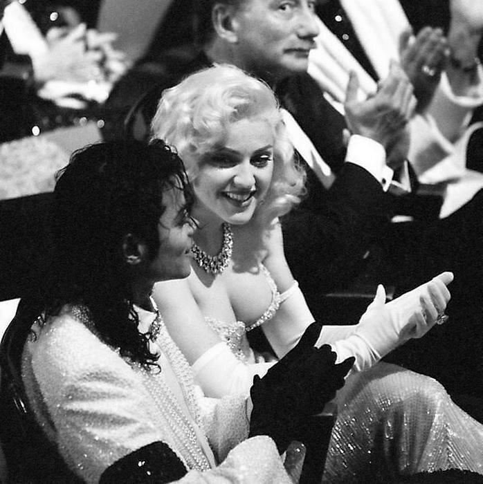 Майкл Джексон и Мадонна на Оскаре 1991 года