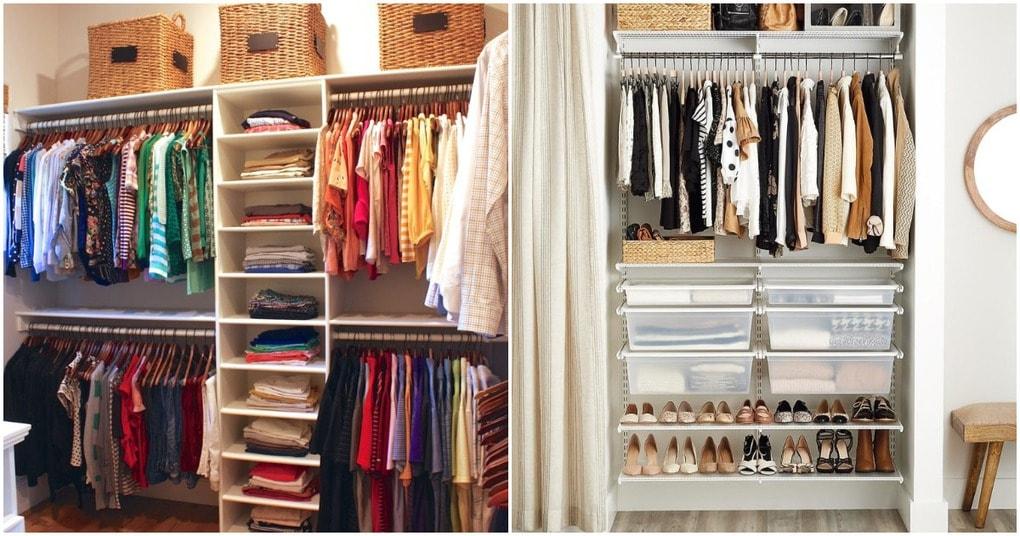 Функциональная гардеробная: идеи организации при минимуме пространства