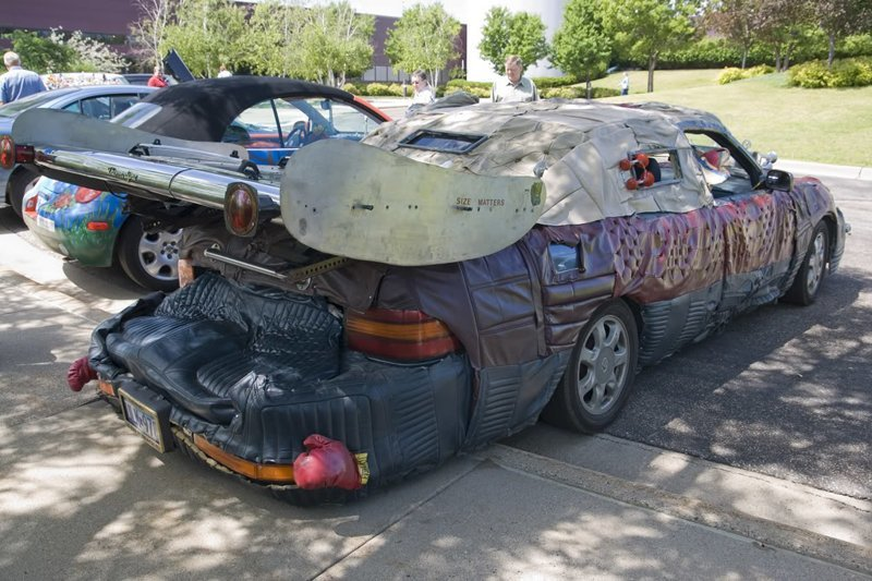 25 людей, которые сильно переборщили с тюнингом своих авто автомобили, прикол, тюнинг, ужасный тюнинг, юмор