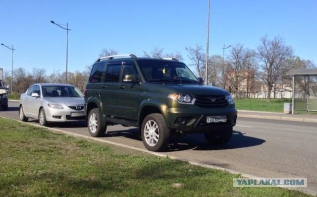 UAZ Patriot Limited : Вымыл машину и отвалилась краска!
