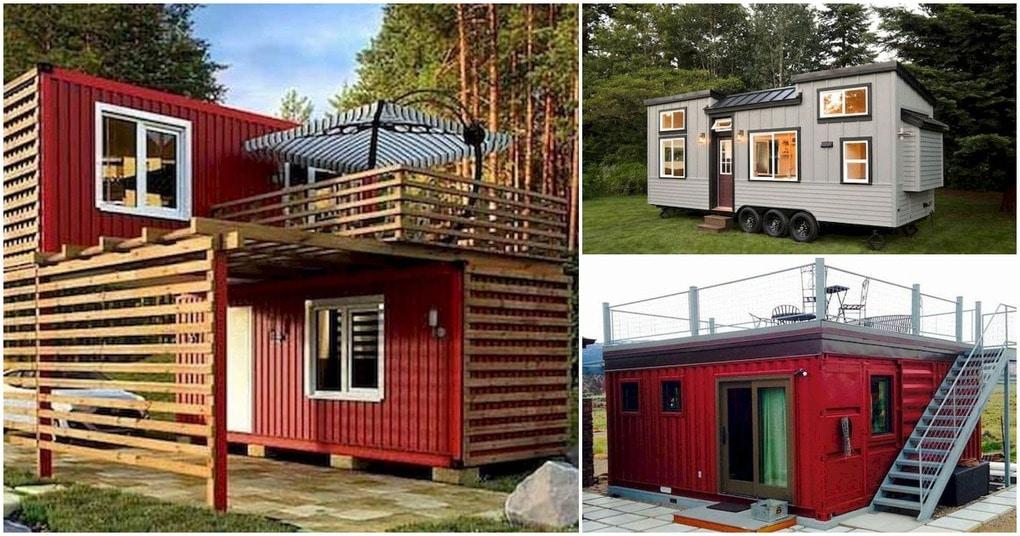 Дачный домик может быть и таким: удачные идеи использования контейнеров