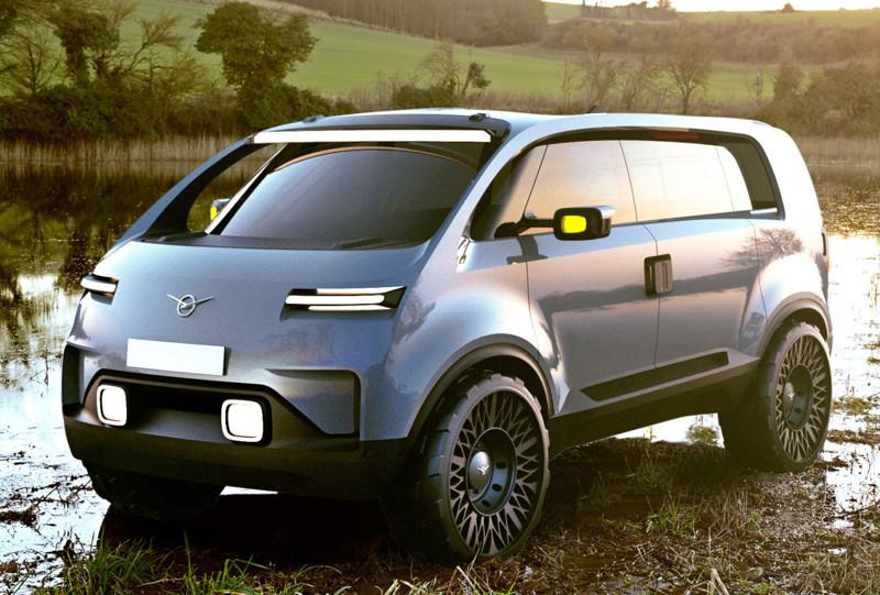 «Необуханка» — дипломный проект Алексея Бравермана. автомобили, ваз, газ, концепты, российские автомобили, уаз