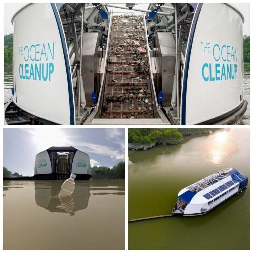 Плавучий дрон «Перехватчик» для сбора пластика на реках дроны,природа,экология