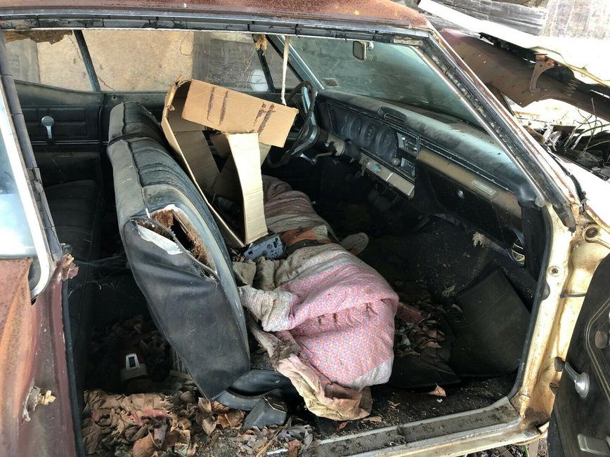 Этот Chevrolet Impala простоял под навесом 35 лет — настоящая сарайная находка автомобиль,машины