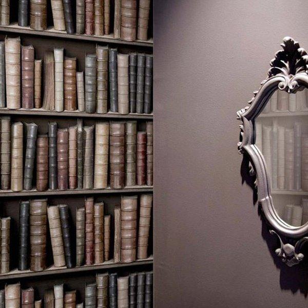 4. Любите читать, но делаете это с цифровых носителей, а дань уважения книгам отдать все-таки хотите? Выход есть - обои с рисунком книги, книголюбы, крутые вещи, способы хранения, фото, чтение