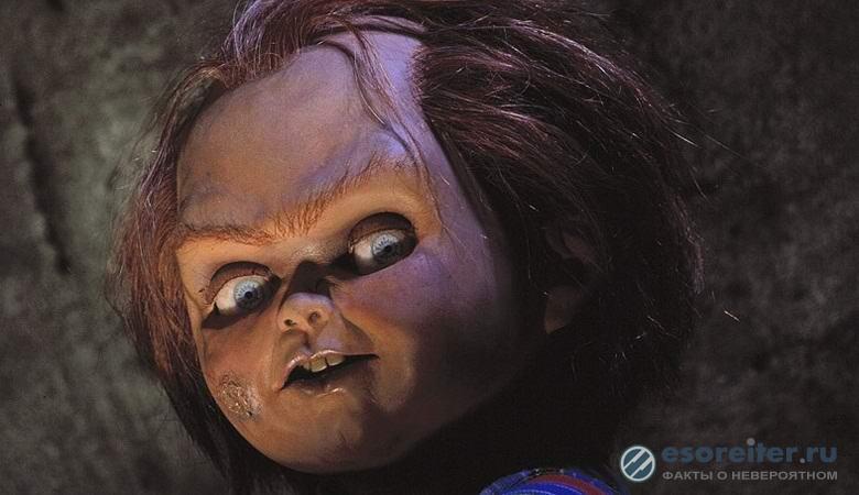 Загадочную куклу с живыми гл…