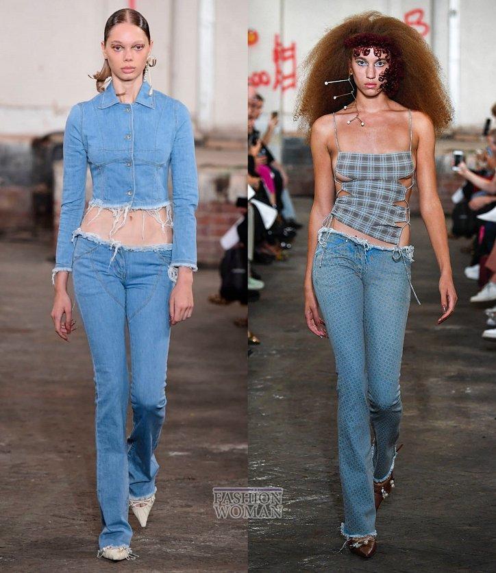 Модные джинсы весна-лето 2019 фото №8