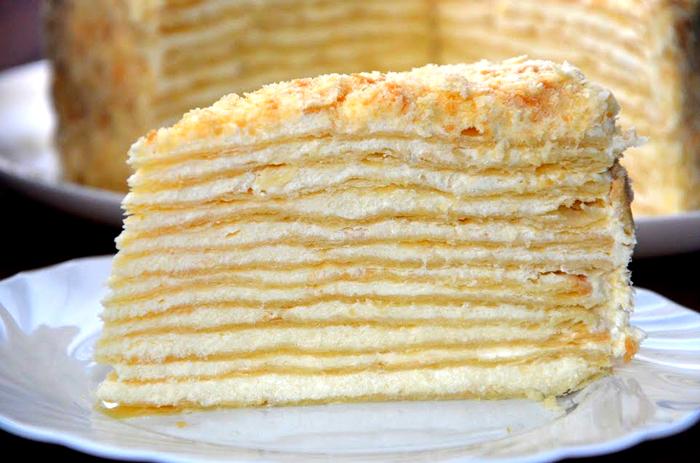 """Классический торт """"Наполеон"""""""
