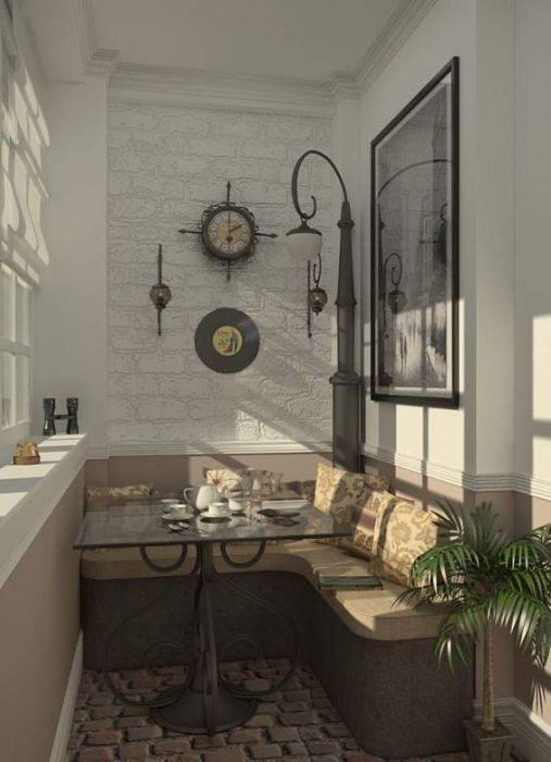 Интересные идеи оформления стильных балконов и лоджий