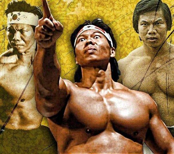 Боло Йен и три его роли, где он играет положительных героев.