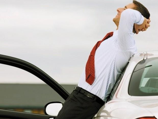 Как оставаться в форме, постоянно сидя за рулем авто и мото,автомобиль,автосоветы