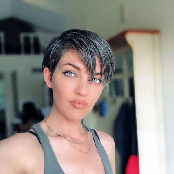 Красить седину — уже не в моде: вот новая фишка в уходе за волосами волосы,красота,мода и красота