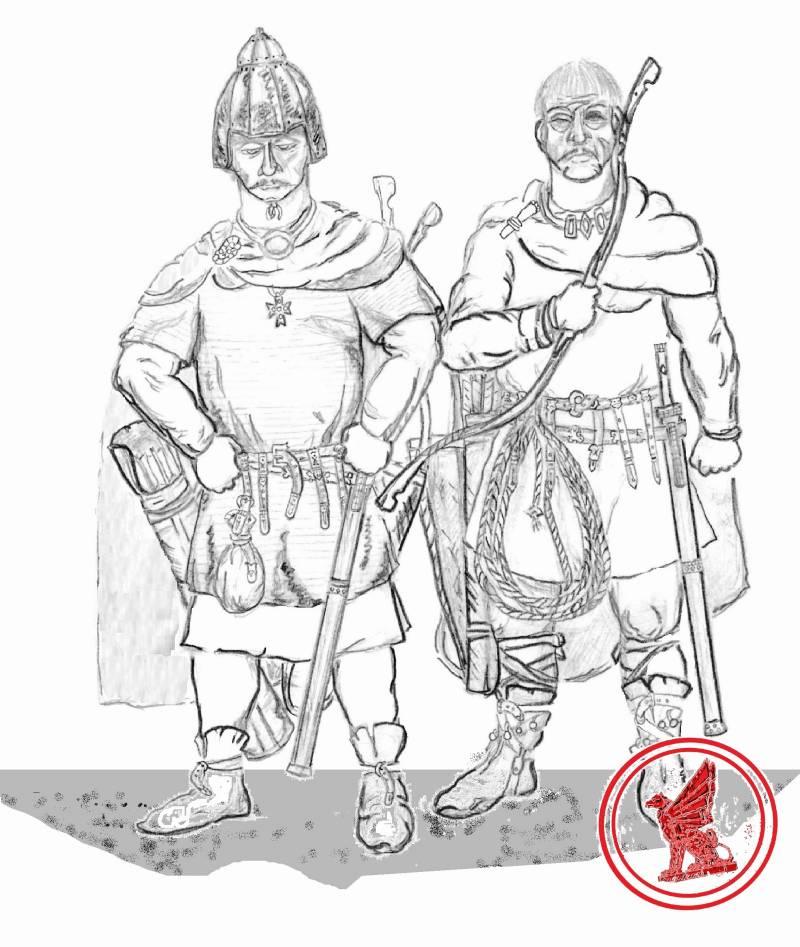Гунны VI века. Снаряжение и вооружение