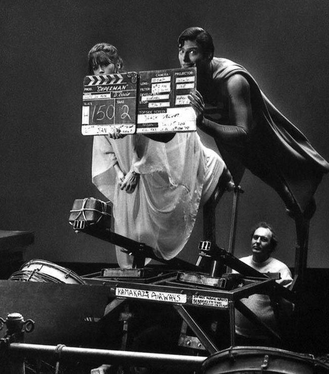 42 потрясающих кадра со съемок культовых фильмов кино
